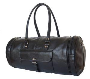 Кожаная дорожная сумка Belforte black