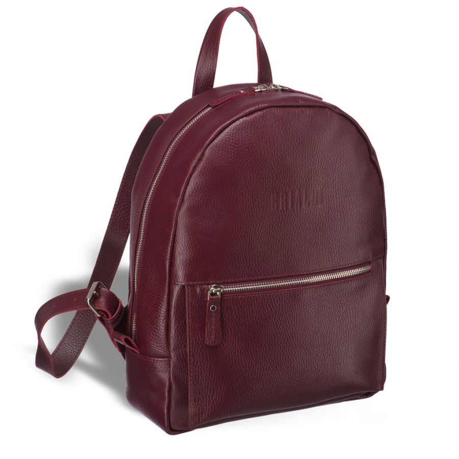 Женский модный рюкзак BRIALDI Giulietta (Джульетта) relief cherry