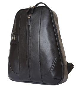 Кожаный рюкзак Razzolo black