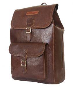 Кожаный рюкзак Cavino dark terracotta