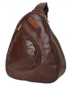 Кожаный рюкзак Vilano dark terracotta