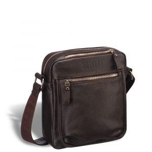 Вертикальная сумка через плечо BRIALDI Todi (Тоди) relief brown