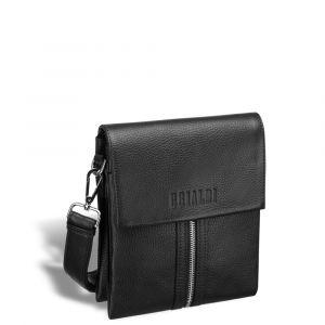Вертикальная сумка через плечо BRIALDI Grand Campi (Кампи) relief black