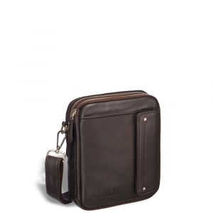 Оригинальная сумка через плечо mini-формата BRIALDI Montone (Монтоне) relief brown