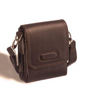 Кожаная сумка через плечо Brialdi Cleveland (Кливленд) relief hazel