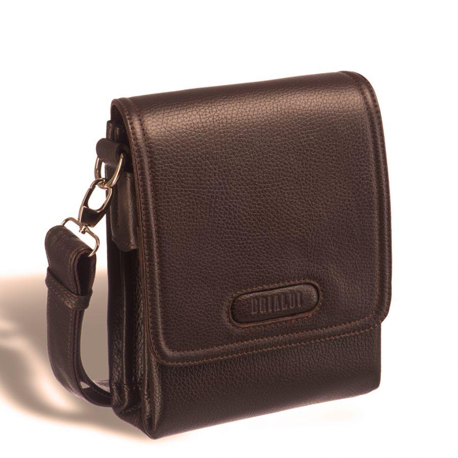 Кожаная сумка через плечо Brialdi Grand Cleveland (Гранд Кливленд) relief hazel